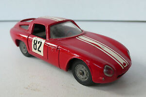 Solido Série 100 Alfa Roméo Giulia Tz R.148 1966 Bon État Critérium Cévennes
