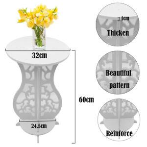 Outdoor Indoor Plant Stand Wood Platic Flower Pot Multi Tier Garden Decor Shelf