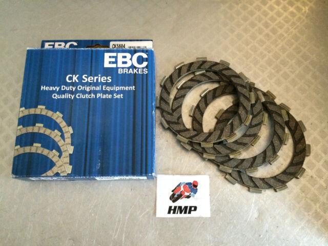 DERBI SENDA 50 R 2003 EBC CLUTCH FRICTION PLATES CK5604 (4 PLATE CLUTCH)
