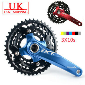 IXF-3X10s-Triple-MTB-Road-Bike-Cycling-Chainset-Crank-set-104-64bcd-Chainring