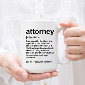 Attorney Definition - Funny Coffee or Tea Mug