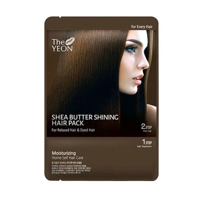 [THE YEON] Shea Butter Shining Hair Pack 20ml*1ea / Focused moisturizing