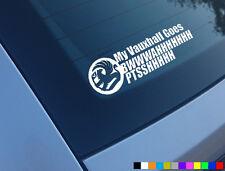 Mi Turbo Vauxhall va divertido Auto Adhesivo Etiqueta Astra Corsa Nova z20let z20leh