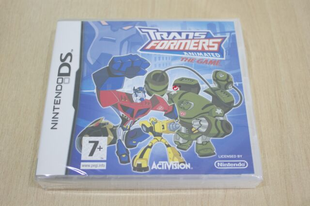 Transformers Animated: The Game -  Nintendo DS  New Factory Sealed