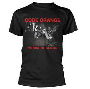 Code-Orange-Wires-In-Blood-Shirt-S-XXL-Punk-Metal-Band-T-Shirt-Official-Tshirt