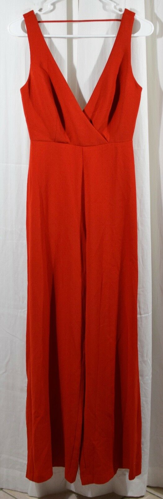 Wayf Curtis Wide Leg Jumpsuit Red Size XS