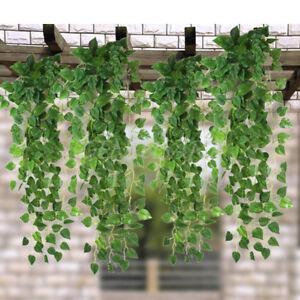 2x 170cm Efeu Kunstliche Girlande Efeubusch Efeuranke Kunstpflanze