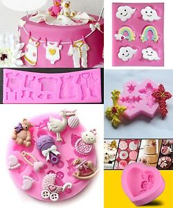 3D-Silicone-Fondant-Cake-Decorating-Mould-Chocolate-Baking-Sugarcraft-Mold-Decor