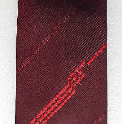 Burt Boulton Timber corporate tie Red Maroon BBT Logo Welsh industry company