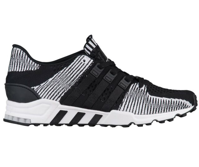 best loved 8448f 5b67d adidas EQT Support RF Primeknit Mens By9689 Black White Running Shoes Size  12.5  eBay