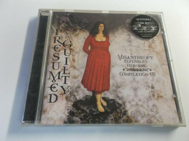 MISANTHROPY,PRESUMED GUILTY.CD ALBUM,