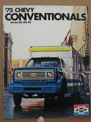 1975 CHEVROLET CHEVY HOW TOUGH PICKUP TRUCK SALES BROCHURE MANUAL BOOK CATALOG