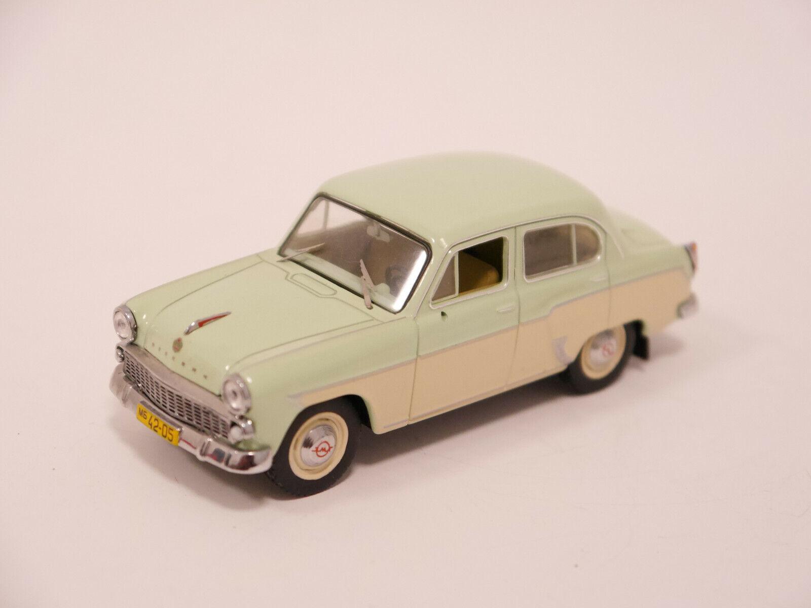 comprar descuentos Moskvich Moskvitch 407 verde pálido light verde crema, es es es 1 43 URSS USSR RDA   suministramos lo mejor