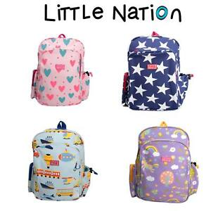 Image is loading Little-Nation-Kids-School-Backpack-Children-039-s- 9fb030a269