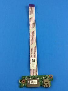 Dell-Inspiron-17-5748-Genuine-USB-Card-Reader-Board-0R1F2R-W-Cable-CG2F4-U-81