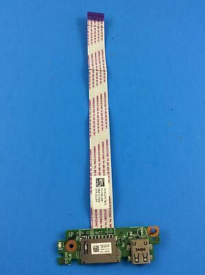 """R1F2R DELL INSPIRON USB AND CARD READER BOARD W CABLE 17 5748 /""""GRADE A/"""""""