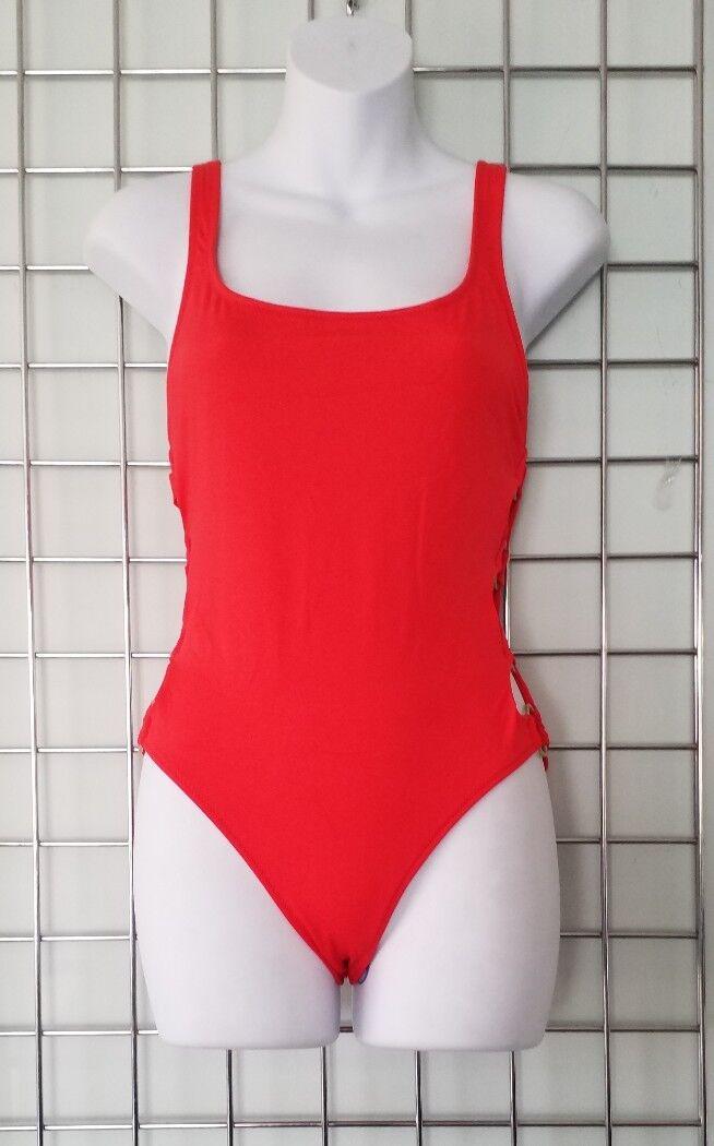 Anello Rosso JENNIFER PANNELLO Costume da Bagno da SOLIDI & a Righe