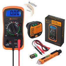 Digital Multimeter Amp Voltage Tester Pen Amp Socket Tester Amp Electrical Test Kit