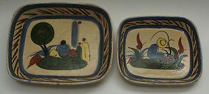 Antique Vintage Mexican Serving Dish From the 1920's/ 30's Set of 2 Original