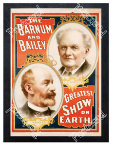 Historic-Barnum-and-Bailey-Greatest-Show-on-Earth-Circus-Advertising-Postcard