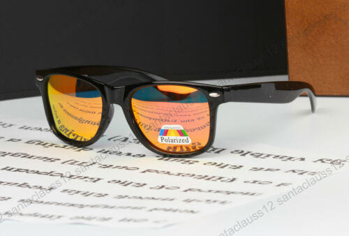 Polarized Square Shape Sunglasses Classic size UV400 Womens Mens