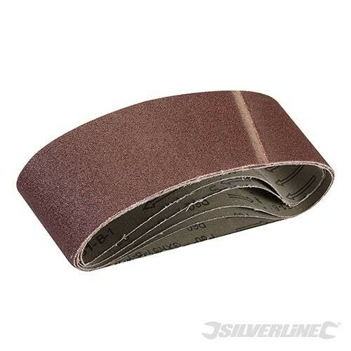 Bandes abrasives 75x533 - Gros 60 - Lot 5