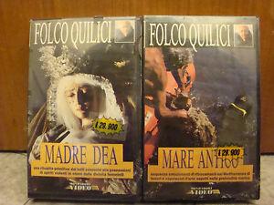 vhs Folco Quillici - 2 VHS - Madre Dea e Mare Antico - Italia - vhs Folco Quillici - 2 VHS - Madre Dea e Mare Antico - Italia