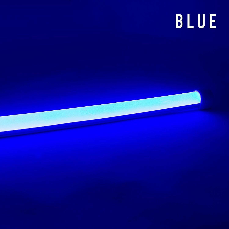 Diodo Led Neon Blaze Luz Led Lineal 24v 4.4w ft emisores de lado Azul 16.4ft