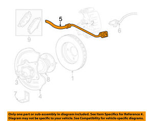 image is loading ford-oem-03-04-mustang-rear-brake-hydraulic-