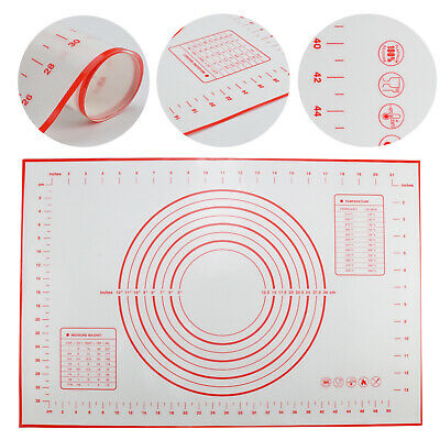 50x70cm Ausrollmatte Backmatte Silikon Fondant Rollmatte Teigmatte Teigunterlage
