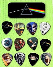 PINK FLOYD -- Guitar Pick Tin includes 12 Guitar Picks FREE POSTAGE