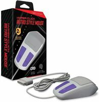 Hyperkin Hyper Click Retro Style Mouse For Nintendo Snes Works With Mario Paint