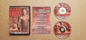 WWE HARD KNOCKS - THE CHRIS BENOIT STORY 2 DISC DVD SET WWF HULK TRIPLE H FLAIR