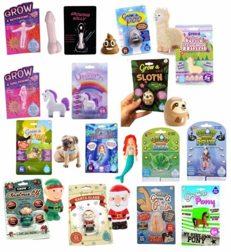 Grown Your Own Toy Gift Children Adults Novelty Fun