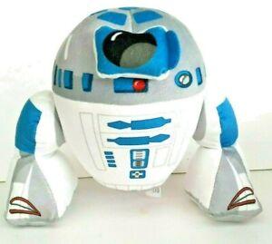 Disney-Starwars-Blue-White-Black-C3P0-Soft-Plush-Stuffed-Doll-Toy-Collectable