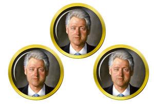 President-Visiere-Clinton-Marqueurs-de-Balles-de-Golf