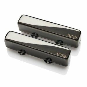 EMG-RT-SET-BKC-Active-Robert-Trujillo-Sig-Jazz-Bass-Pickup-Set-Black-Chrome