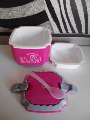 Essenbehälter mit Löffel Thermo Behälter Food Behälter Thermobehälter Neu.