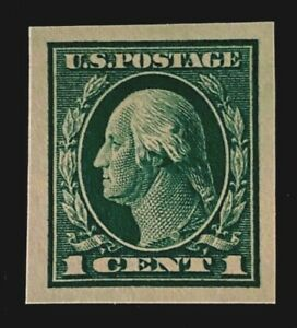 US-Stamp-Scott-481-1916-1c-imperf-with-large-margins-Rich-color-XF-S-M-NH
