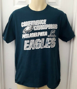 Image is loading PHILADELPHIA-EAGLES-T-Shirt-Size-Medium-Silver-Sparkle- c444eff56