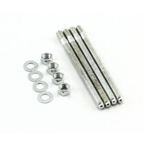 """5//16-18//24/"""" x 3.825/"""" Carburetor Stud Set Kit"""