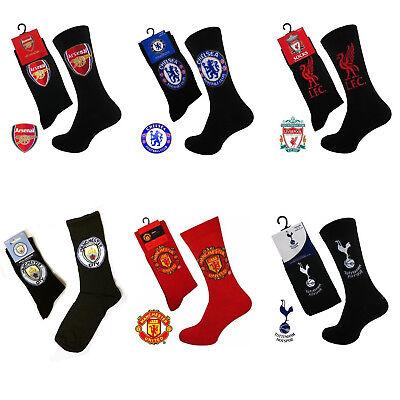 Official Men/'s Boys Football Manchester Liverpool Spurs Arsenal Chelsea Socks