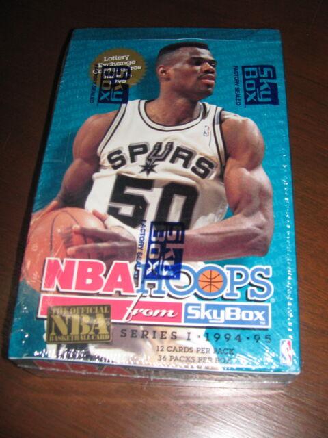✦NBA Hoops Series 1 1994-95 from Skybox Michael Jordan David Robinson ✦