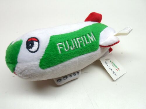 FUJI FILM  Bean Blimps Advertising Collectible Stuffed Plush Toy