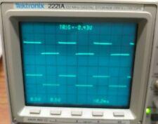 Tektronix 2221a 100 Mhz Digital Storage Oscilloscope