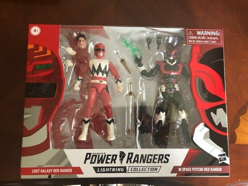 energia rangers lightning collezione rosso ranger