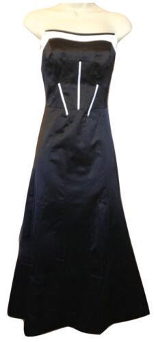Blanc Années Uk Soirée Midi Tailles Noir Robe Karen Sans Bretelles 50 Millen Cocktail Long HqZwEX