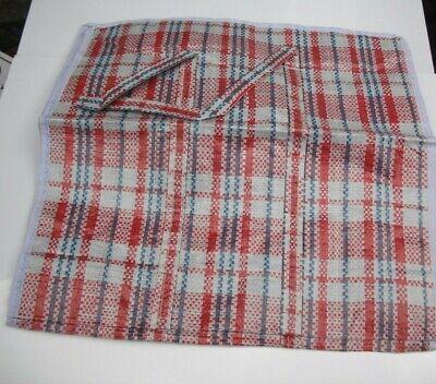 Forte 39x39x13 Cm Riutilizzabile Motivo A Scacchi Shopping Bag For Life-colori Assortiti- Moderno Ed Elegante Nella Moda