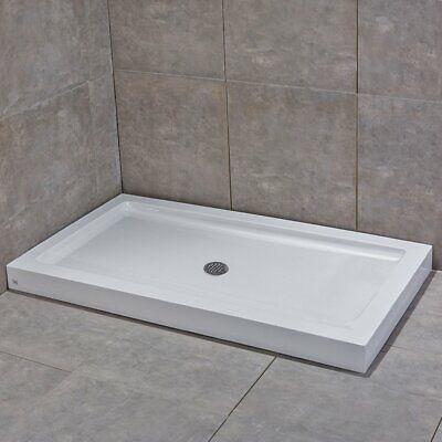 Woodbridge Sbr6030m Acrylic Shower Base 60 W X 30 D 3 5 H Center Drain Ebay