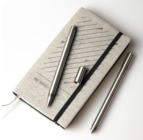 Timewalker Stainless Steel Gel Ink Pen Refill Gift tactical survival Defence